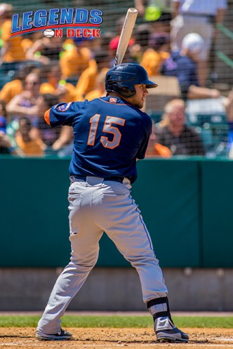 Michael Conforto helped push the Mets pass the Rays 4-3 on Friday night. (Gabe Rodriguez)