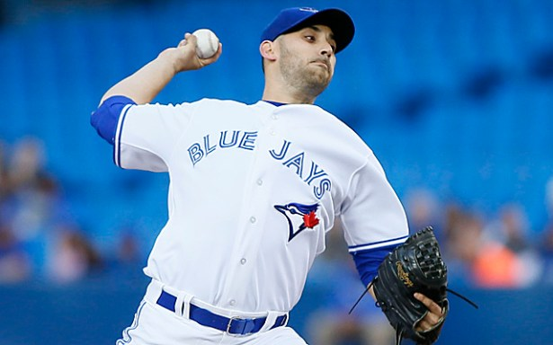 RHP Marco Estrada will help the Blue Jays dig themselves out of a two game deficit against the Texas Rangers. Mandatory Credit: John E. Sokolowski-USA TODAY Sports