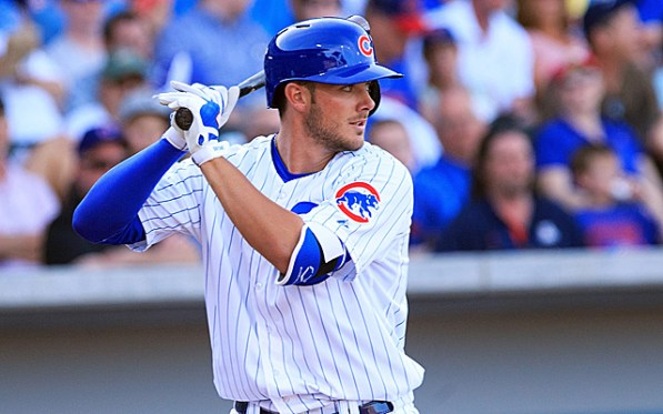 Kris Bryant homered in Monday's win against the Cardinals to get the Cubs one step closer to the Championship series. Mandatory Credit: Allan Henry-USA TODAY Sports