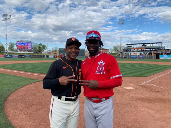 Spring Training with the L.A Angels