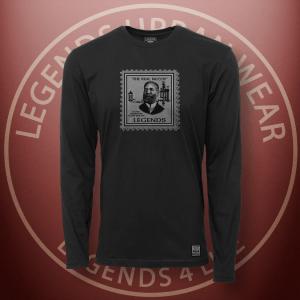 Legends Elijah McCoy Black Long Sleeve Shirt FRONT