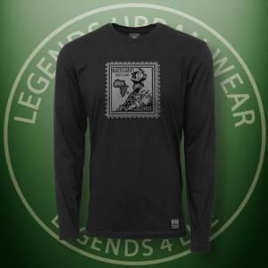 Legends Marcus Garvey Black Long Sleeve Shirt FRONT