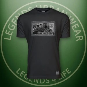 LEGENDS-Greensboro-Mens Black Premium Tee Front