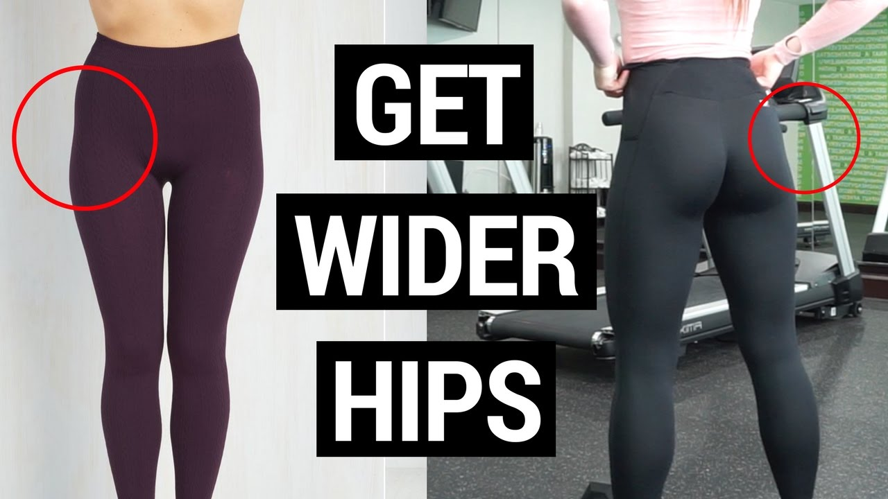 7 Exercises for WIDER Hips  How to Fix Your Hip Dips
