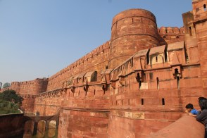Agra Fort and moat