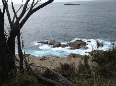 near Mosquito Bay