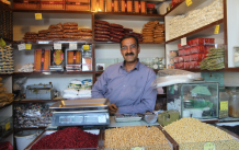 Selling spices, Iran