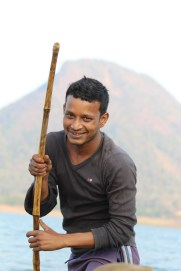 canoe poler