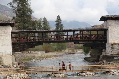 Bridge to Rinpung Dzong