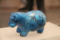 Ceramic hippo, Egypt