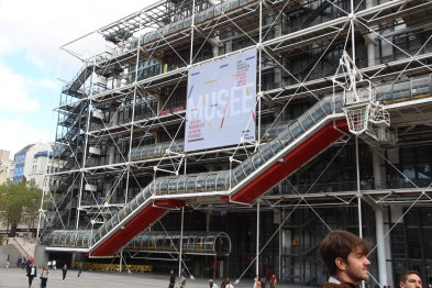 George Pompidou Centre outside