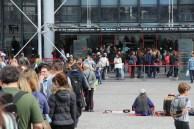 George Pompidou Centre queue