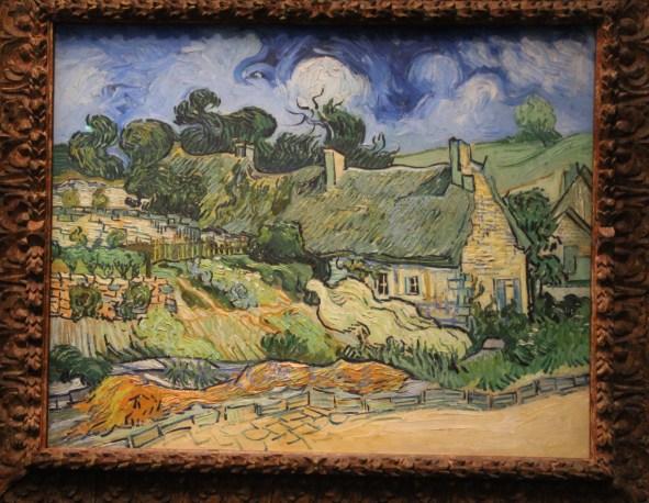 Chaumes de Cordeville, van Gogh