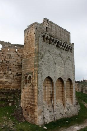 Krak des Chevaliers wall