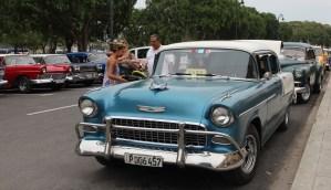 Vintage Chevy in Cuba