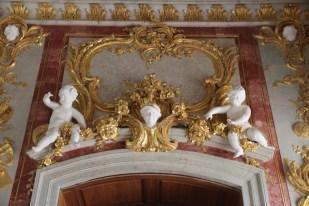 Rundāle Palace, Throne Room doorway
