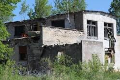 Skrunda-1, Latvia, derelict building