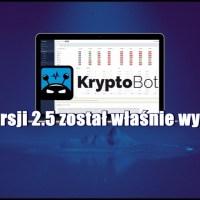 KryptoBot w wersji 2.5 został właśnie wydany!