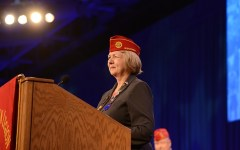 American Legion National Commander Denise H. Rohan