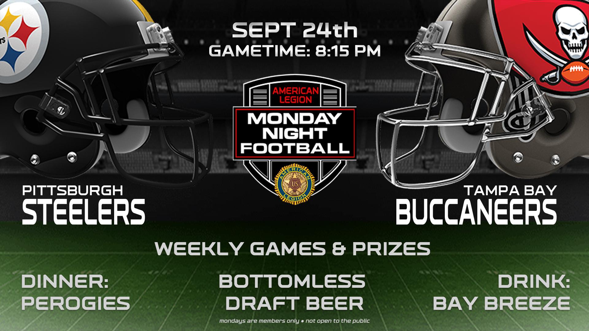 Monday Night Football Sept 24th