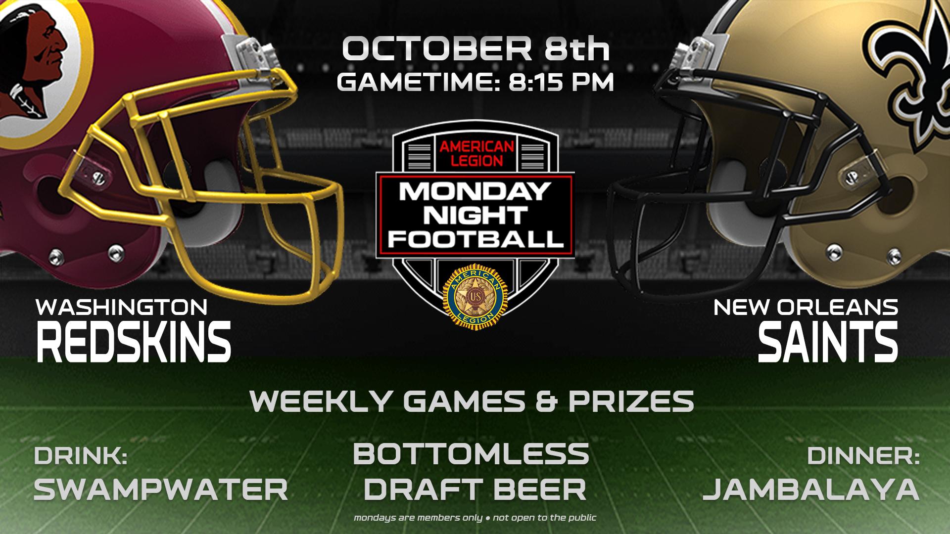 Monday Night Football Party