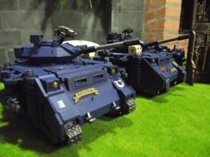 Toda imponência do exército Ultramariner.