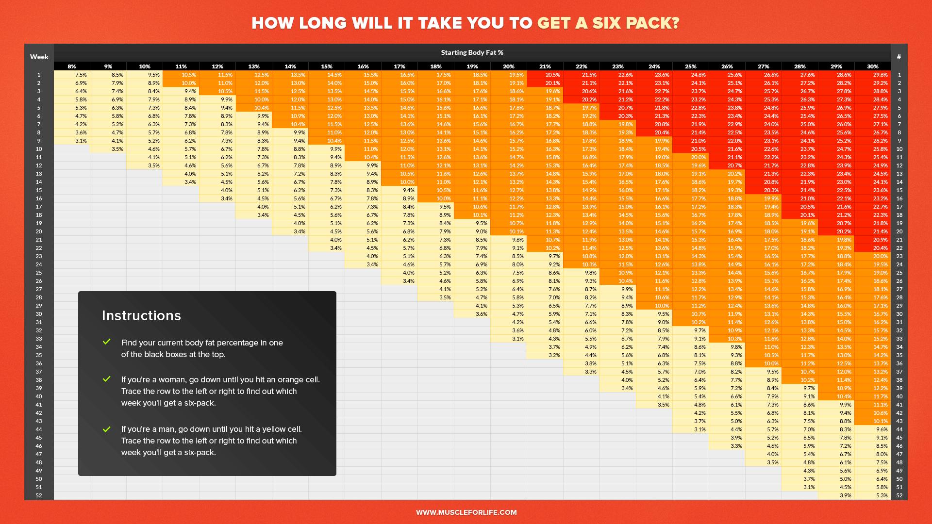 Excel Templates Food Fat Percentage Calculator