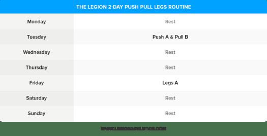 2-Day-Push-Pull-Legs-Routine