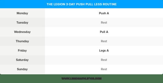3-Day-Push-Pull-Legs-Routine
