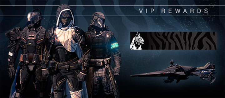 Destiny recompensas VIP