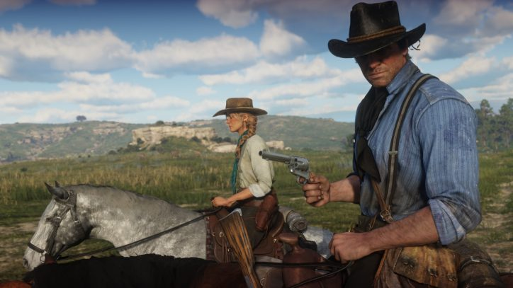 Red Dead Redemption II y Fallout 76