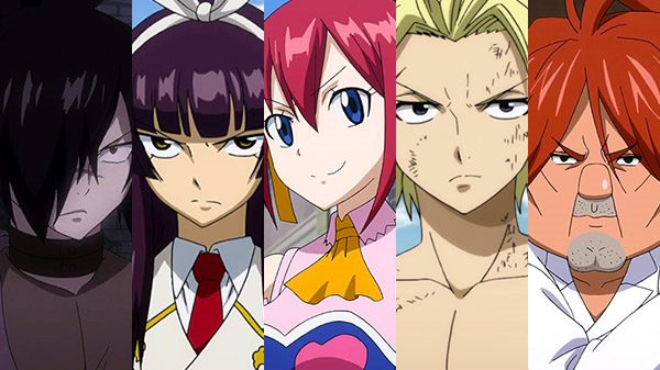 Fairy Tail juego personajes