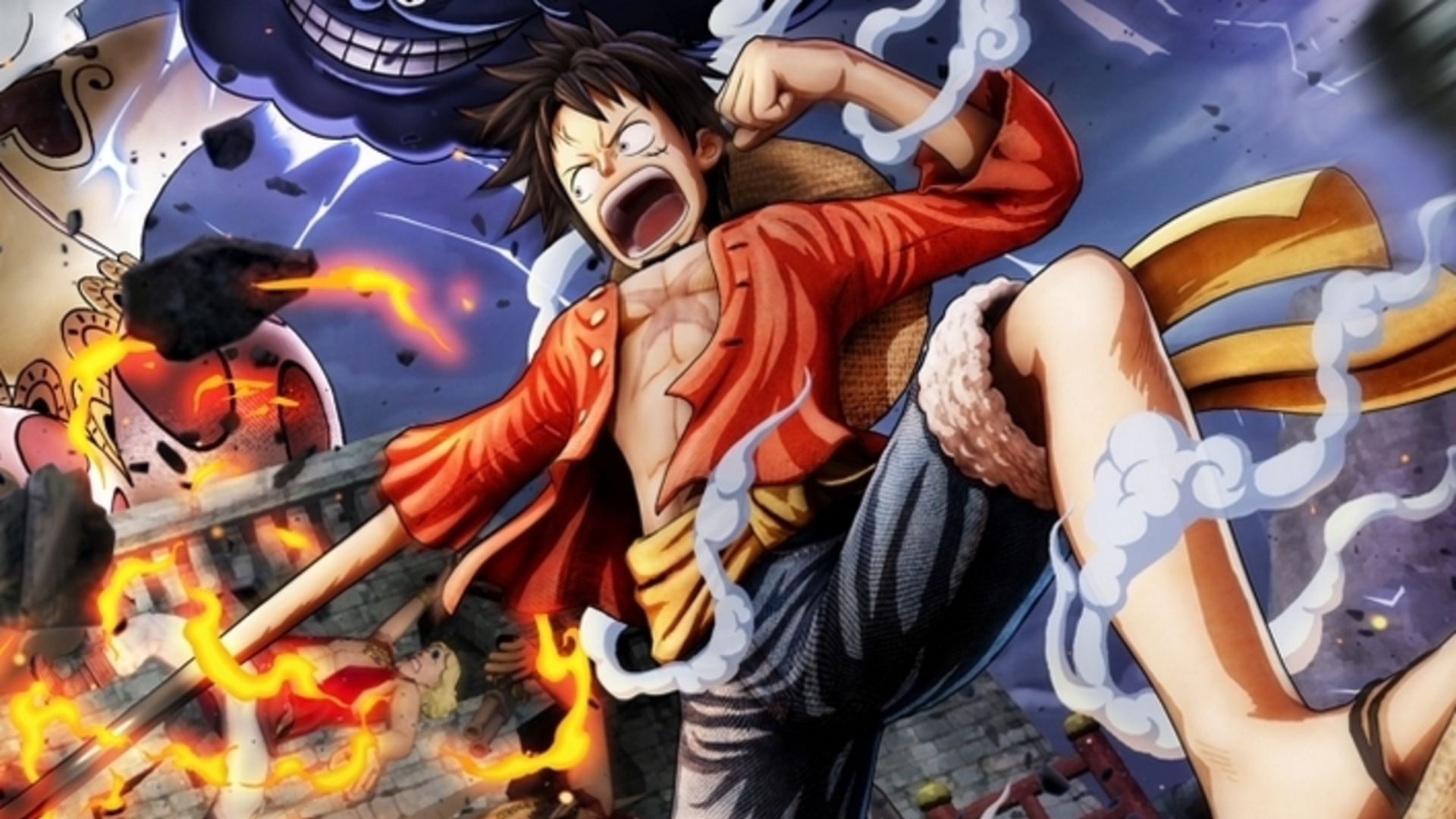 one piece pirate warriors 4 trailers