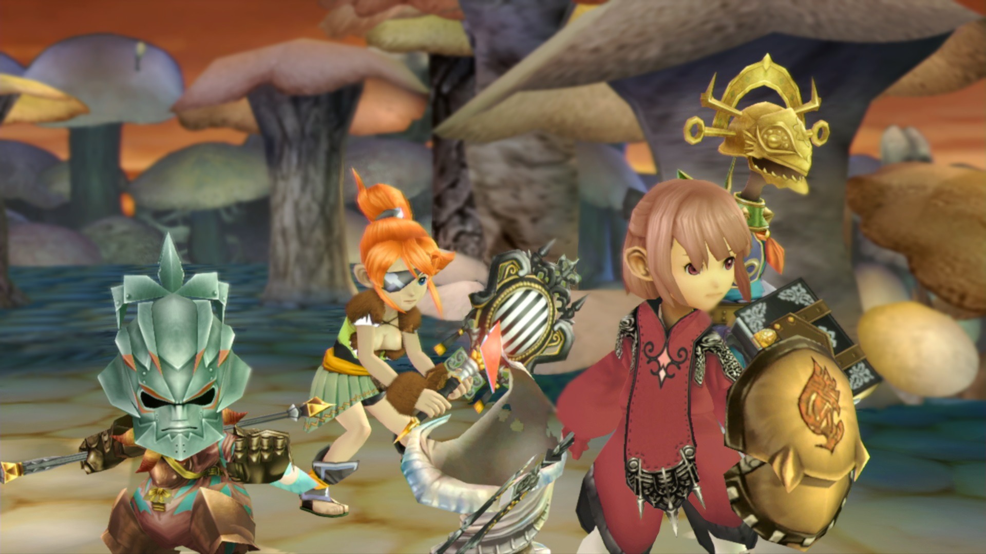Resultado de imagen para Final Fantasy Crystal Chronicles Remastered Edition""