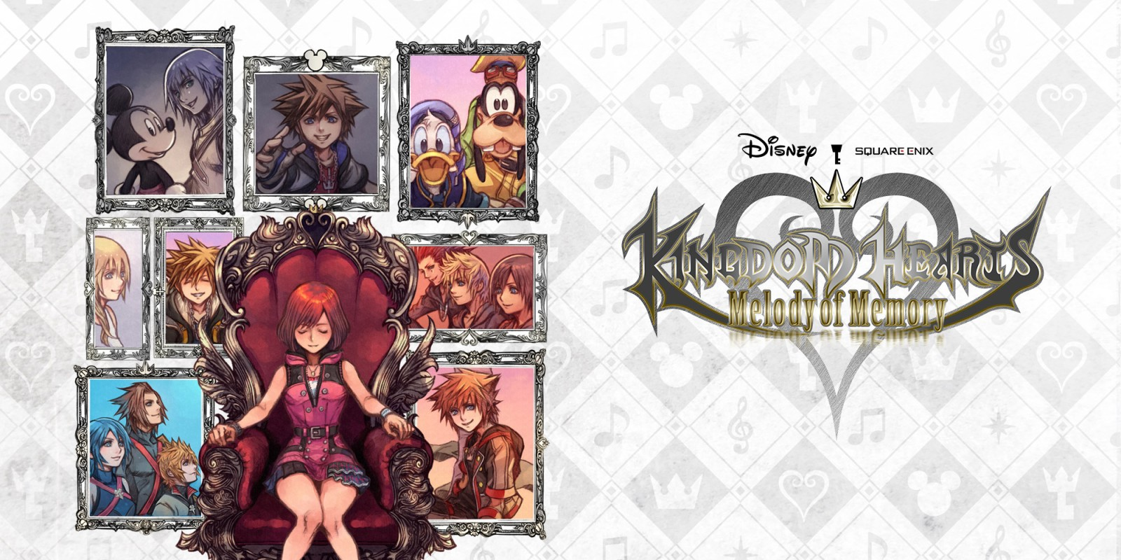 Kingdom Hearts Melody of Memory fecha destacada
