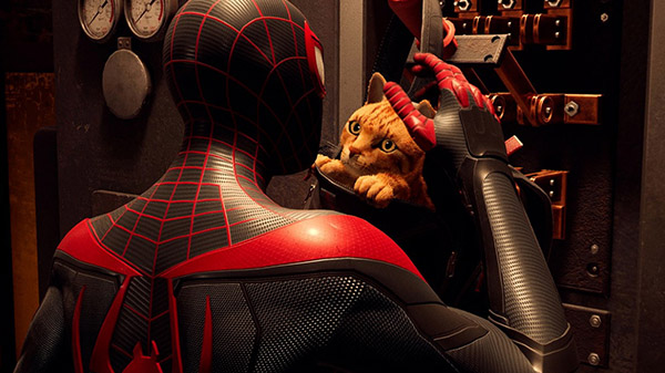 marvel's spider-man miles morales spider-cat