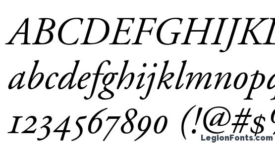 Adobe Garamond Italic Oldstyle Figures Font Download Free