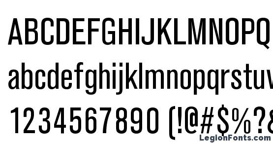 Ancona Narrow Regular Font Download Free / LegionFonts