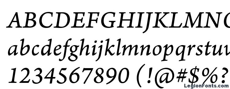 ArnoPro Italic08pt Font Download Free / LegionFonts