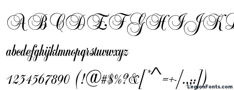 Ballad Script Regular Font Download Free / LegionFonts