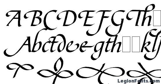 Bible Script Flourishes LET Plain.1.0 Font Download Free