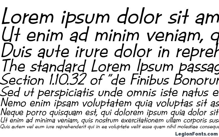 Cac futura casual med. italic Font Download Free / LegionFonts