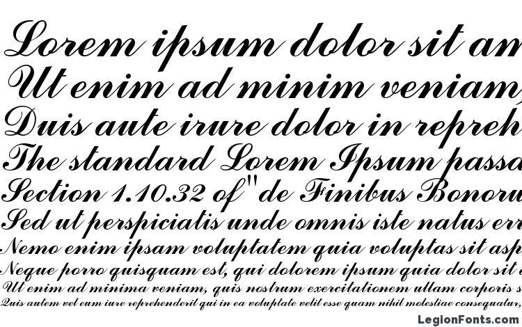 Commercial Script BT Font Download Free / LegionFonts