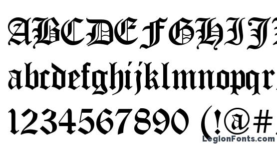 Encient German Gothic Font Download Free / LegionFonts