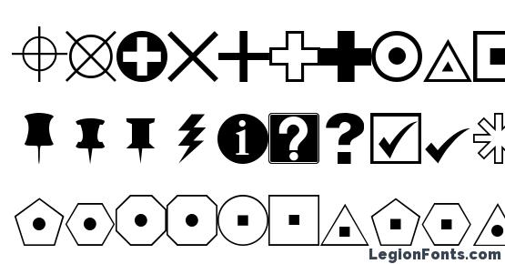 ESRI Default Marker Font Download Free / LegionFonts