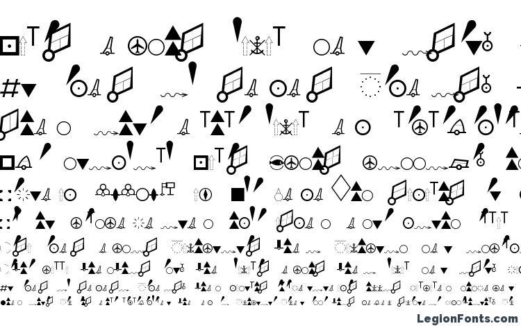 ESRI NIMA DNC PT Font Download Free / LegionFonts
