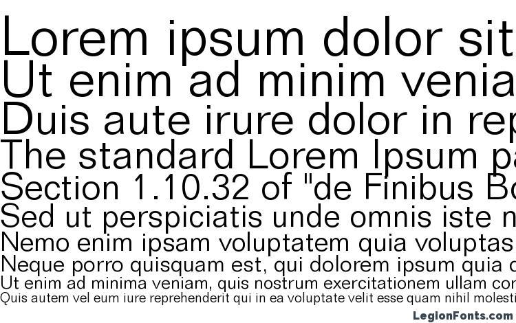 Folio Light BT Font Download Free / LegionFonts