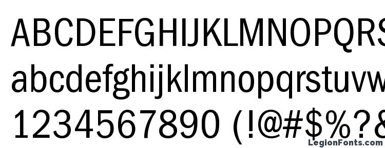 ITC Franklin Gothic LT Book Condensed Font Download Free
