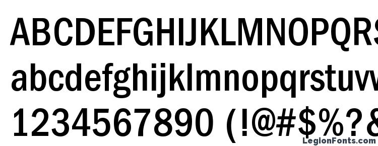 ITC Franklin Gothic LT Medium Condensed Font Download Free