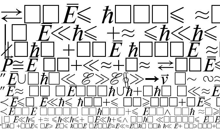 Mathematicabtt regular Font Download Free / LegionFonts